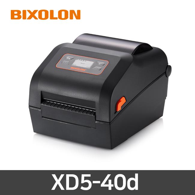 빅솔론 XD5-40d 감열 바코드 프린터 USB연결