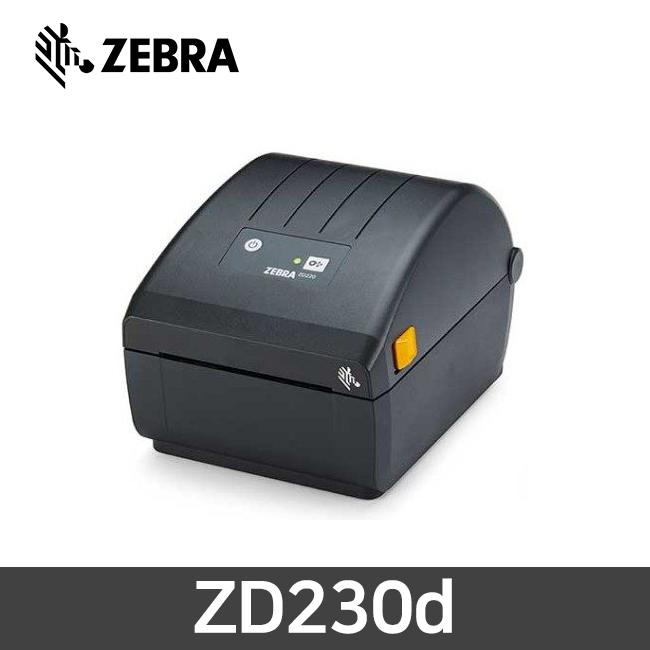 ZEBRA 제브라 ZD230d 감열 바코드 프린터 203dpi