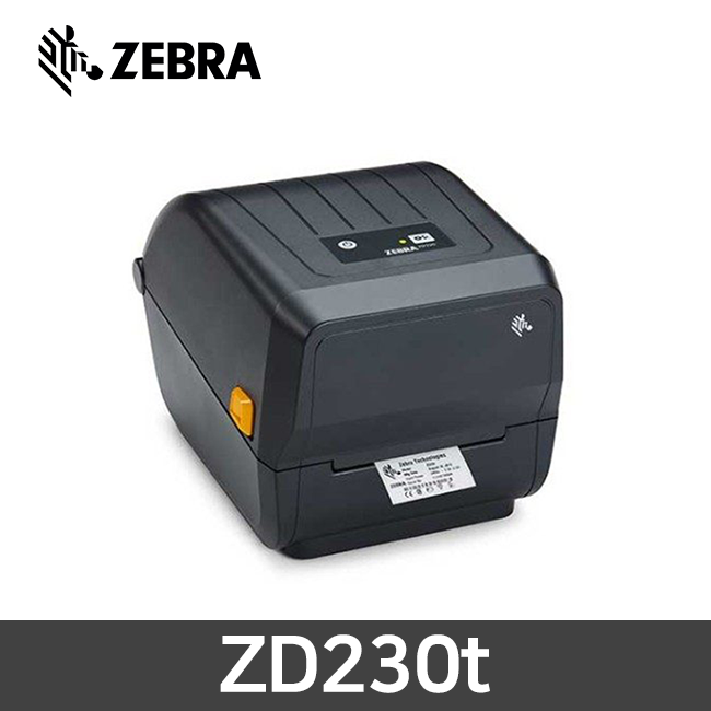 ZEBRA 제브라 ZD230t 감열 열전사 겸용 바코드 프린터 203dpi