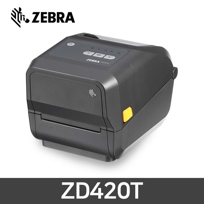 ZEBRA 제브라 ZD420T 감열 열전사 바코드 프린터 203dpi