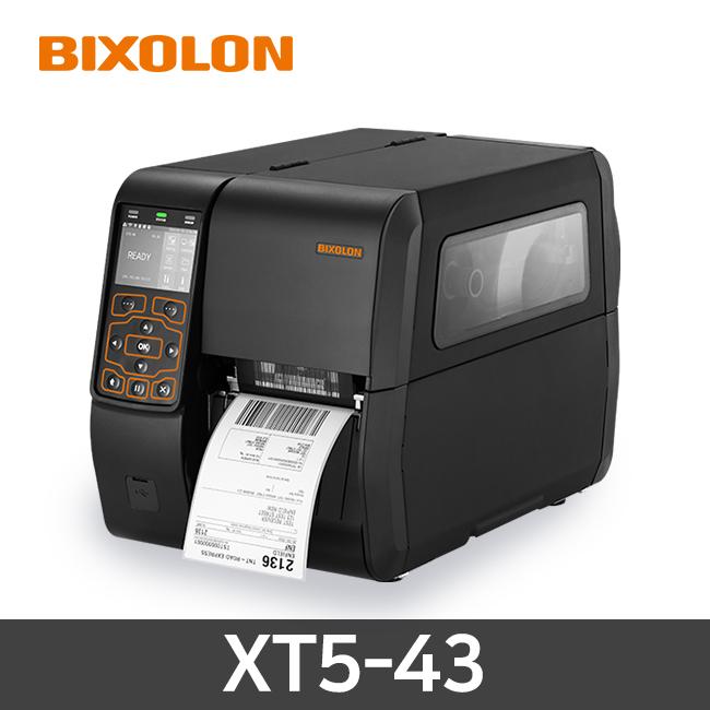 BIXOLON XT5-43 열전사 감열방식 300dpi 산업용 바코드프린터