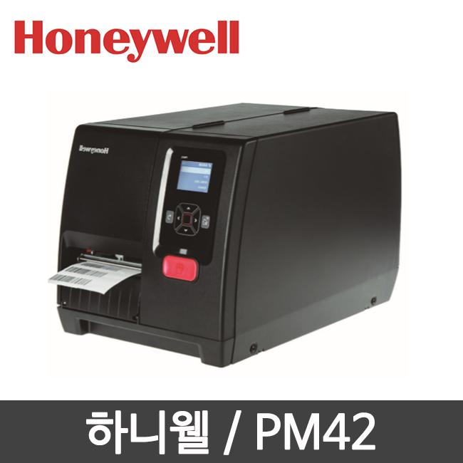 하니웰 PM42 열전사 감열 산업용 라벨 프린터 203dpi
