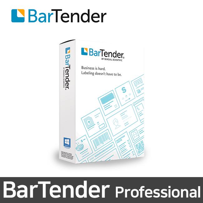 SEAGULL 바텐더 프로페셔널 바코드 라벨출력 소프트웨어 1User
