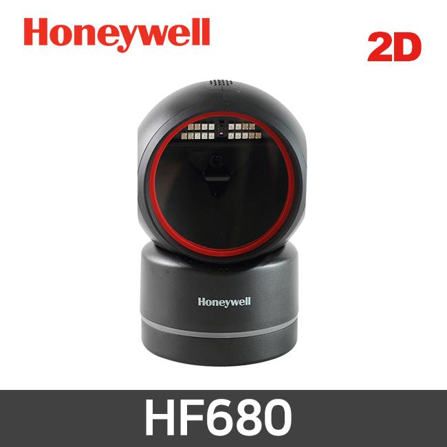하니웰 HF680 탁상형 바코드스캐너 QR코드 2D BLACK