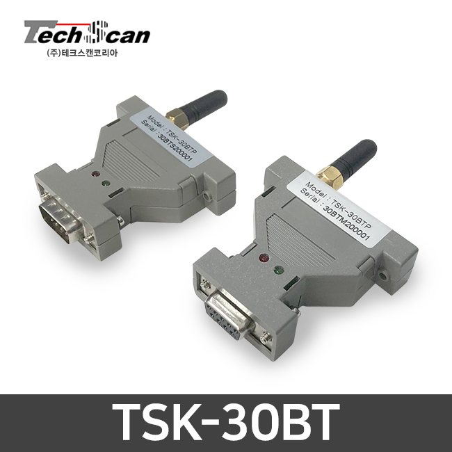 테크스캔 무선데이터 송수신모듈 TSK-30BT(영수증프린터용 시리얼 무선전송)